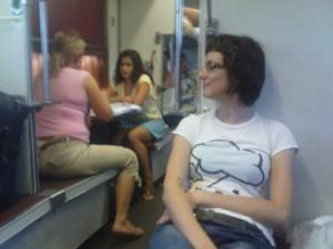 Moja malenkost u vozu