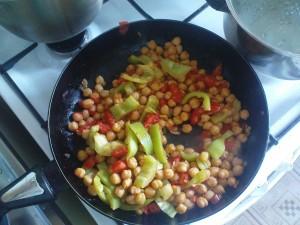 Leblebije s povrcem