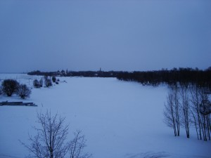 Zaleđena Volga u Jaroslavlju