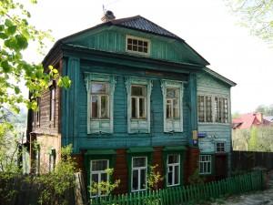 Tipična ruska seoska kuća