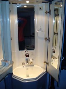 lavabo u sobici